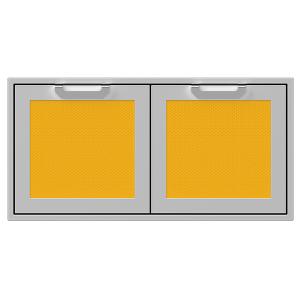 """42"""" Hestan Outdoor Double Storage Doors - AGSD Series - Sol"""