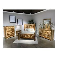 COMING SOON, PRE-ORDER NOW! Crossroads Natural Bedroom Set, VAC-C001