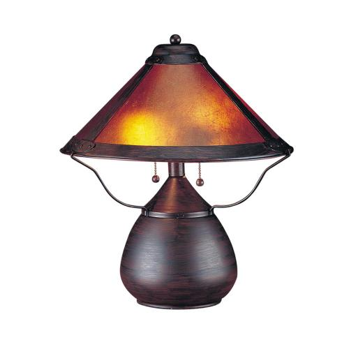 40W X 2 Mica Table Lamp
