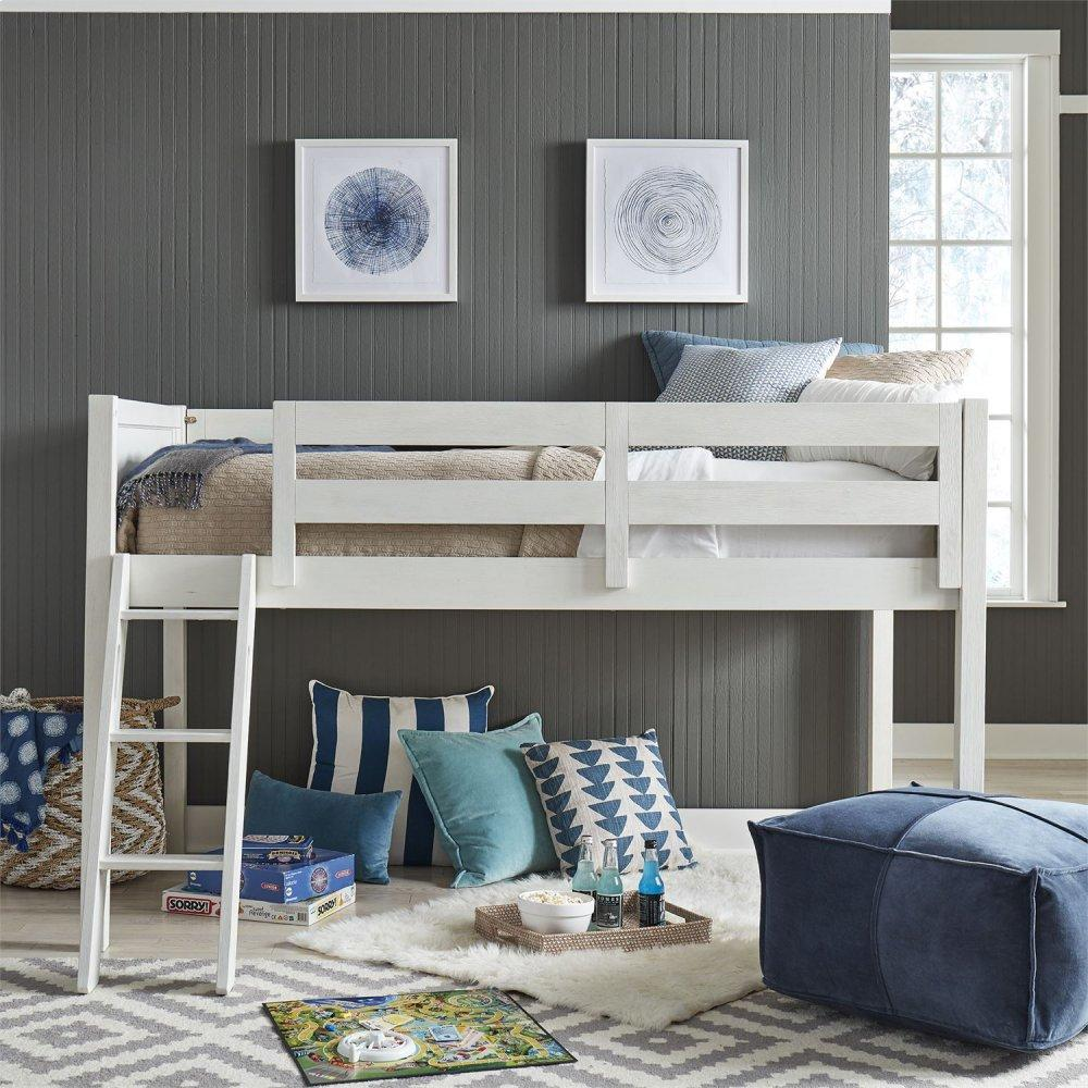 Twin Loft Bed Open