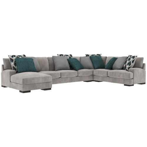 Ashley - Bardarson 4-piece Sectional With Chaise