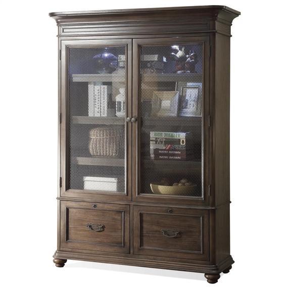 Riverside - Belmeade - Bookcase - Old World Oak Finish