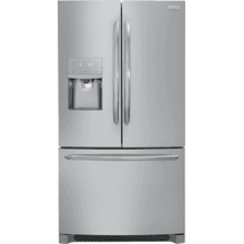 Frigidaire Gallery 21.7 Cu. Ft. Counter-Depth French Door Refrigerator (This is a Stock Photo, actual unit (s) appearance may contain cosmetic blemishes. Please call store if you would like actual pictures). REBATE NOT VALID with this item. ISI 37634 B