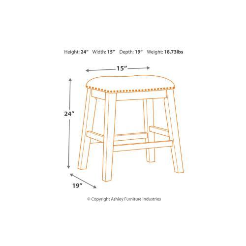 Signature Design By Ashley - Upholstered Stool