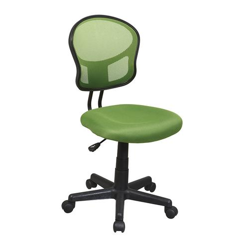 Mesh Task Chair In Green Fabric