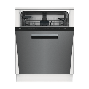 BekoTall Tub Stainless Dishwasher, 14 place settings, 45 dBa, Top Control with Pocket Handle