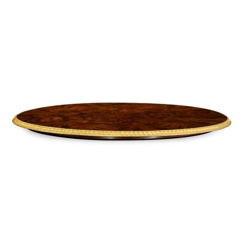 "35"" Lazy Susan of 71"" Dining Table"