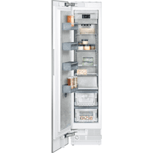"400 series Vario freezer 400 series Niche width 18"" (45.7 cm) Fully integrated, panel ready"