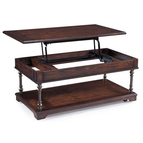 Magnussen Home - Rectangular Lift Top Cocktail Table w/casters