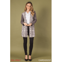 Get Grounded Knit Cardigan - XXL (3 pc. ppk.)