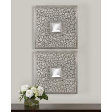 Colusa Mirrored Wall Decor, S/2