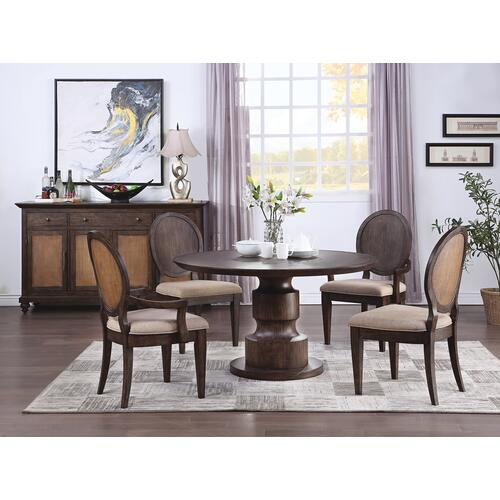Wakefield Upholstered Arm Dining Chair