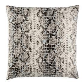 Edina Pillow - Grey/black