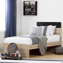 Industrial Bed Set - Platform Bed and Headboard kit - 39''