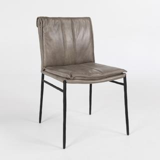 See Details - Mayer Dining Chair Dark Gray