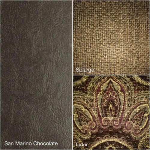 San Marino Chocolate Splurge Chaise
