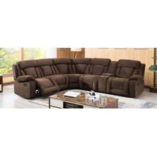 8037 Fabric Modular Sectional Sofa