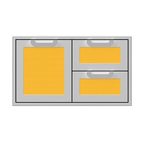 """Hestan - 36"""" Hestan Outdoor Combo Door/Drawer - AGSDR Series - Sol"""