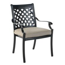 Armonk Stackable Dining Arm Chair