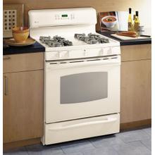 "GE Profile 30"" Self-Clean Free-Standing Gas Range with Warming Drawer"