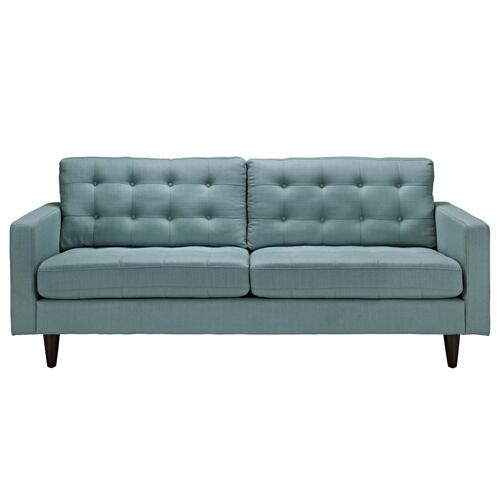 Empress Upholstered Fabric Sofa in Laguna