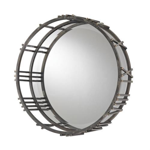 See Details - Roman Numeral Mirror.