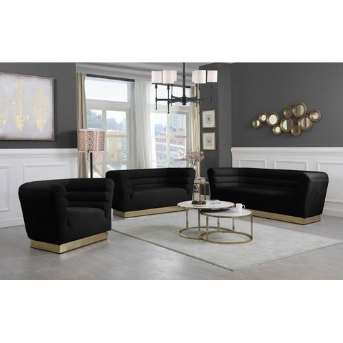 "Bellini Velvet Sofa - 89"" W x 35"" D x 32"" H"