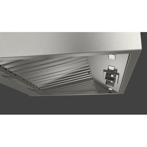 "30"" Pro Hood (1 Fan - Knobs) - Stainless Steel"