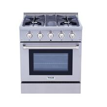 30 Inch Professional Gas Range In Stainless Steel - Liquid Propane