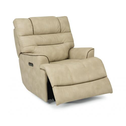 Brian Power Recliner with Power Headrest & Lumbar