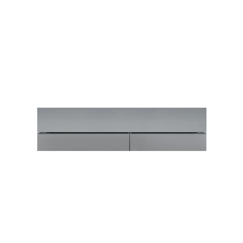 """Classic 66"""" Dual Flush Inset Stainless Grille Panel"""