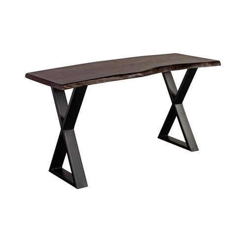 See Details - Manzanita Midnight Console Table with Different Bases, VCS-CS58M