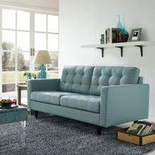 See Details - Empress Upholstered Fabric Loveseat in Laguna