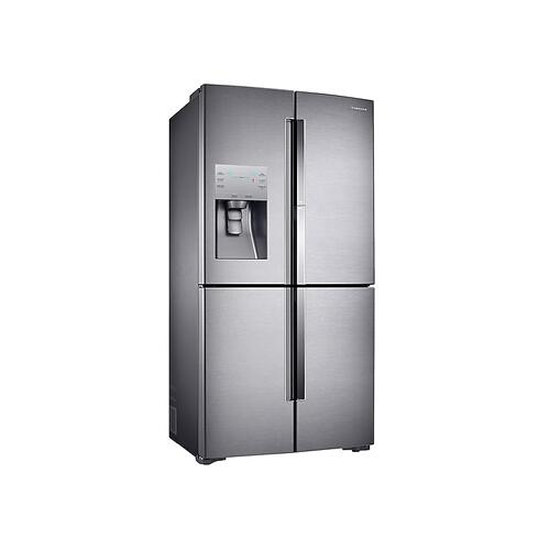 22 cu. ft. Food Showcase Counter Depth 4-Door Flex™ Refrigerator with FlexZone™ in Stainless Steel