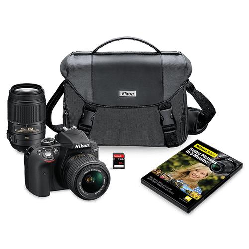 D5300 Two Lens Kit Black