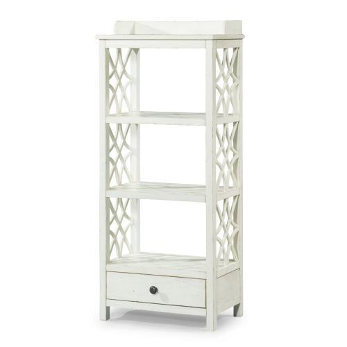 Product Image - Trisha Yearwood Coming Home Etagere in White Finish