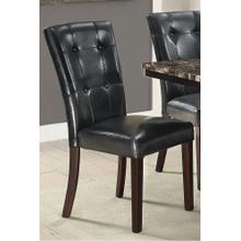 Maura Dining Chair, Black-v1