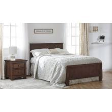 Napoli Flat-Top Full-Size Bed Rails