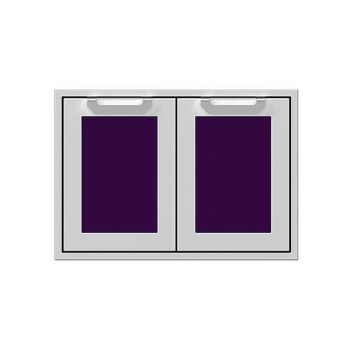 "30"" Hestan Outdoor Double Access Doors - AGAD Series - Lush"