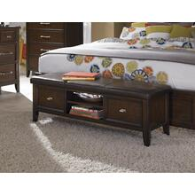 Chestnut Bed Bench