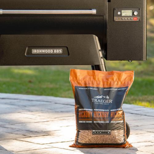 Traeger Grills - Hickory BBQ Wood Pellets