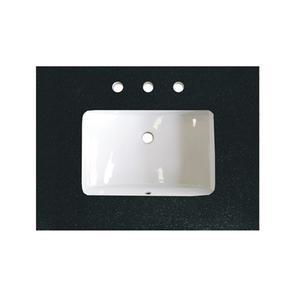 """3cm (1-1/4"""") 30"""" Black Absolute (BA) Granite Top Product Image"""