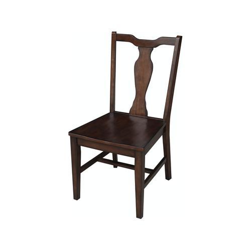 Splatback Chair in Chestnut
