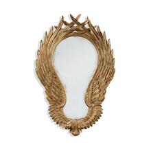 "Classical ""winged"" wall mirror"