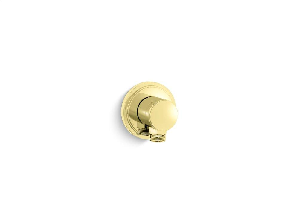Wall Supply Elbow - Unlacquered Brass