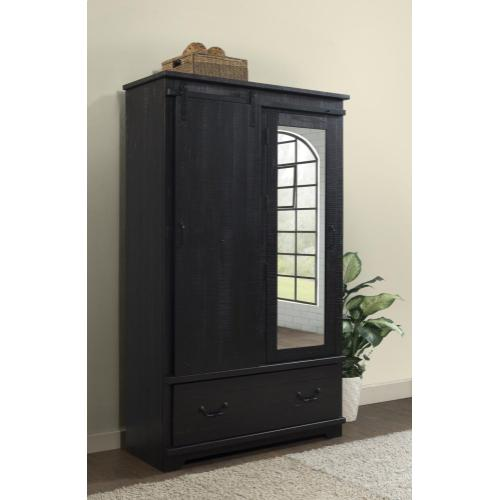ARMOIRE - Antique Black