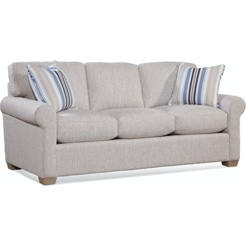 Bedford 3 over 3 Sofa with Topstitch