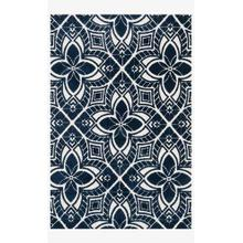 View Product - Hcd10 Ivory / Navy Rug