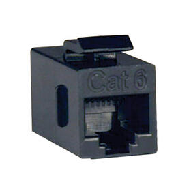 Cat6 Straight Through Modular In-line Snap-in Coupler (RJ45 F/F), TAA