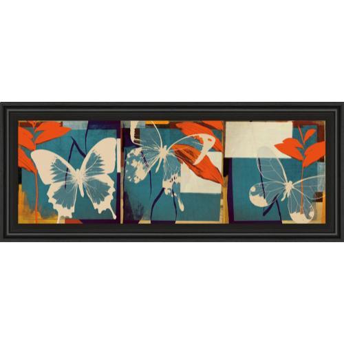 """Classy Art - """"Butterflies Viola"""" By Noah Framed Print Wall Art"""